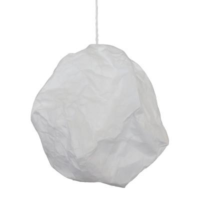 Lampadario Sphere bianco, in carta, diam. 42 cm, E27 MAX60W IP20