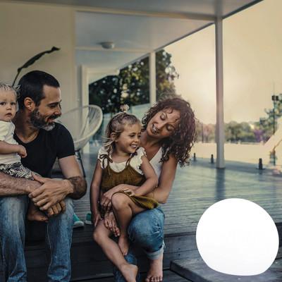 Lampada da esterno Buly H45cm, in plastica, E27 MAX25W NEWGARDEN
