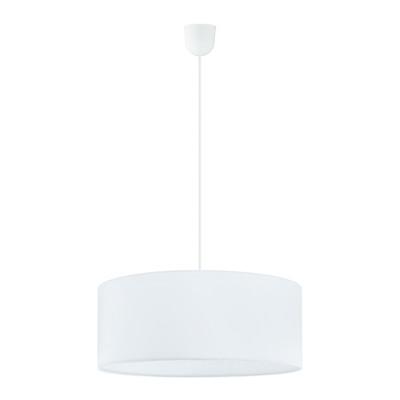 Lampadario Rossano bianco, in sintetico, diam. 48 cm, E27 3xMAX3x60WW IP20 EGLO