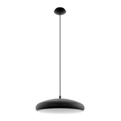 Lampadario Riodeva verniciato nero, in metallo, diam. 44.5 cm, LED integrato 27W 3400LM IP20 EGLO