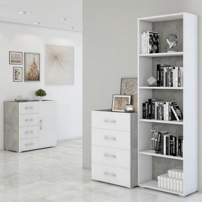 Libreria 4 ripiani L 60 x P 30 x H 195 cm