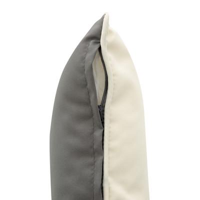 Cuscino per sedia o poltrona ecru 40x10 cm