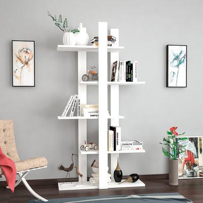 Libreria Denbi 5 ripiani L 80 x P 20 x H 150 cm
