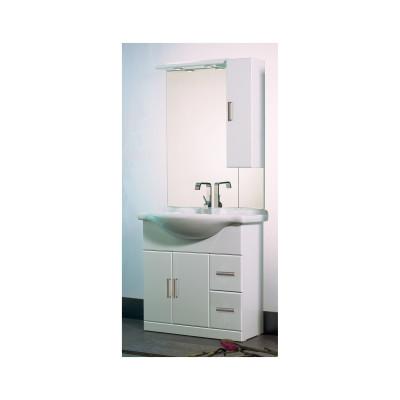 Mobile bagno Creta bianco L 85 cm
