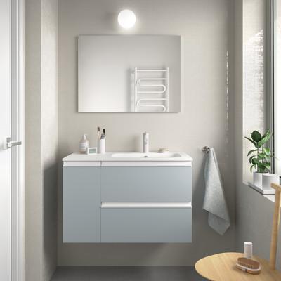 Mobile bagno bianco L 80 cm
