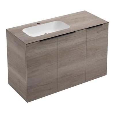 Mobile bagno rovere sablé L 120 cm