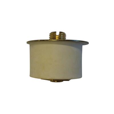 Accessorio per lampadario in acciaio beige