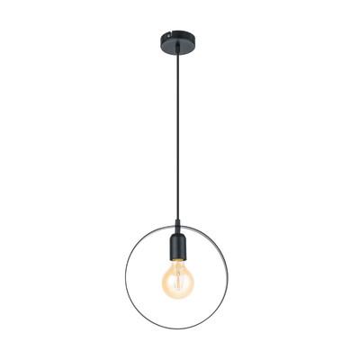 Lampadario Bedinton  nero, in metallo, diam. 25 cm, E27 MAX60W IP20 EGLO