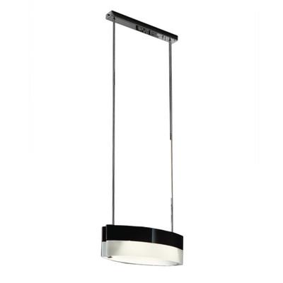 Lampadario Color bianco, nero, in metallo, E27 2xMAX53W IP20 LUMICOM