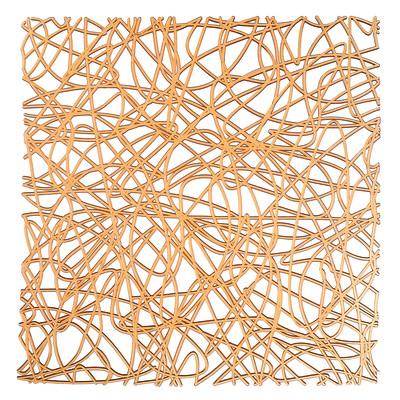 Tappetino lavello Cross arancione L 30