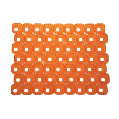 Tappetino lavello Optical arancione L 40