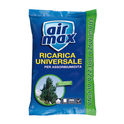 Ricarica sali assorbiumidità Airmax alpina 450