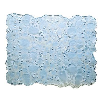 Tappetino lavello Drop trasparente L 40