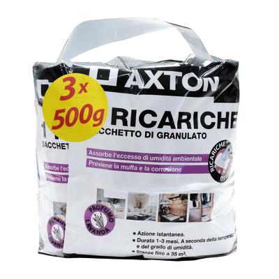 Axton Ricarica sali assorbiumidità lavanda