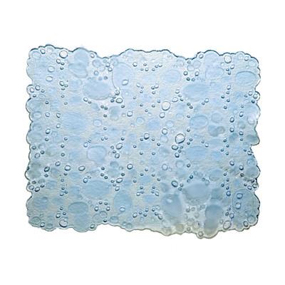 Tappetino lavello Drop trasparente L 31