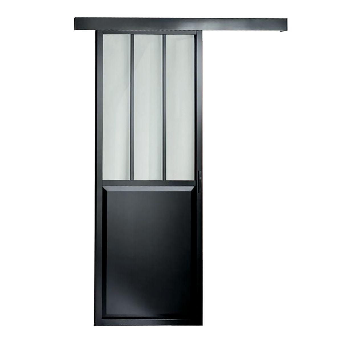 Affordable porte scale e da interno scorrevole atelier x h - Porte scorrevoli immagini ...