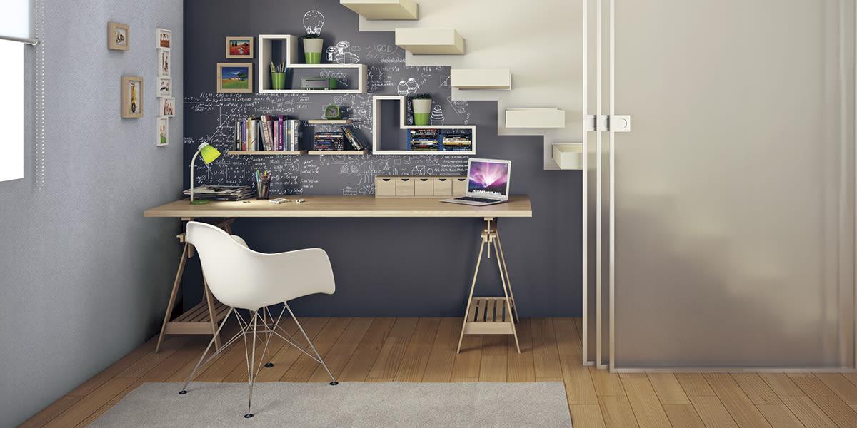 """Amato Creare uno spazio """"write zone"""" con la pittura lavagna RQ83"""