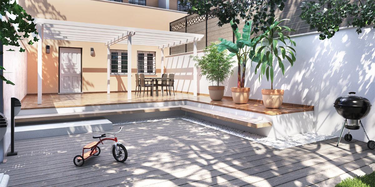 Giardini pavimentati immagini hc18 regardsdefemmes for Arredare un piccolo giardino