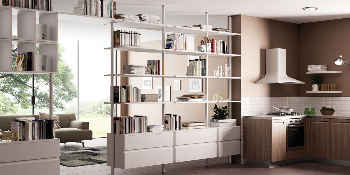 Awesome pareti divisorie in legno leroy merlin xm21 pineglen for Leroy merlin librerie
