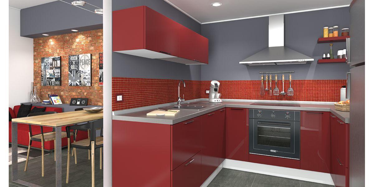 Super Idee per arredare una cucina piccola: organizzarla per ricavare  FQ72