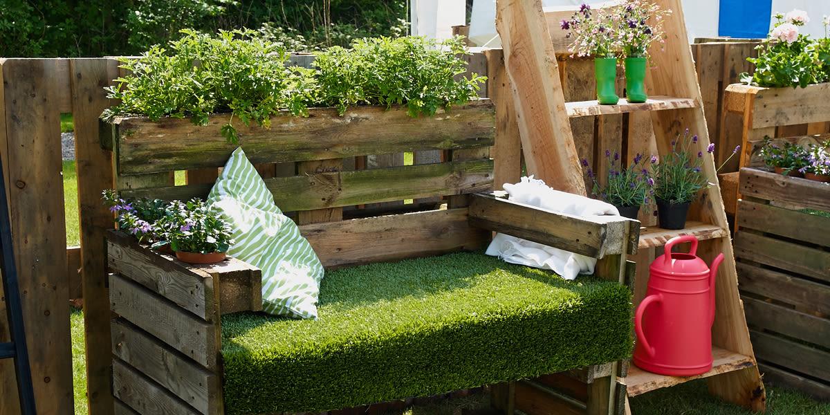 Awesome idee arredo giardino e terrazzo decorazioni e for Arredo terrazza giardino offerte