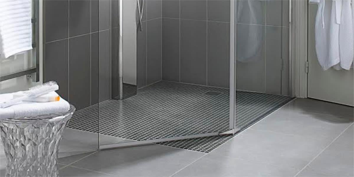 Super Come realizzare un piatto doccia mosaico - Leroy Merlin NQ18