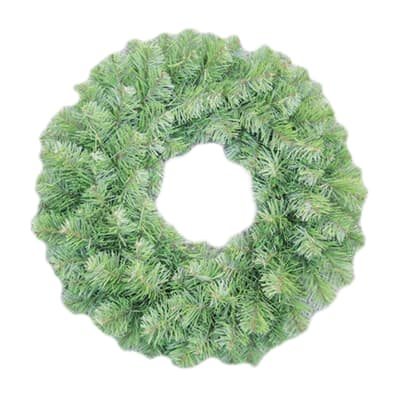 Albero Di Natale Leroy Merlin.Corona Di Natale Verde O 61 Cm Prezzo Online Leroy Merlin