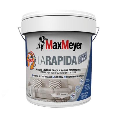 Pittura Murale Rapida Maxmeyer 14 L Bianco Prezzo Online Leroy Merlin