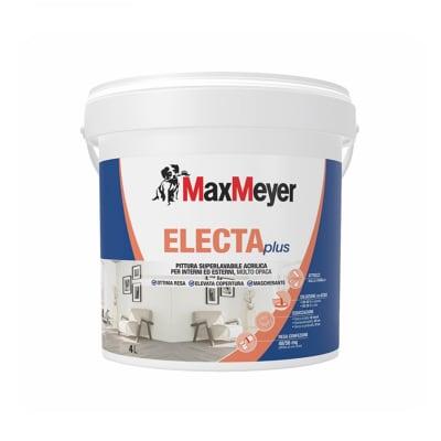 Pittura Murale Electaplus Maxmeyer 4 L Bianco Prezzo Online Leroy Merlin