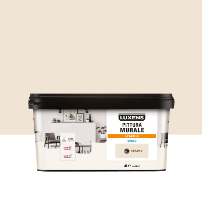 Pittura Murale Luxens 4 L Beige Cream 2 Prezzo Online Leroy Merlin
