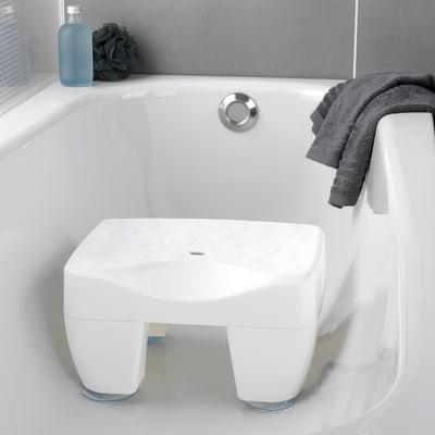 Sedile Per Vasca Bagno.Sedile Per Vasca Secura In 100 Plastica Bianco Wenko Prezzo Online Leroy Merlin