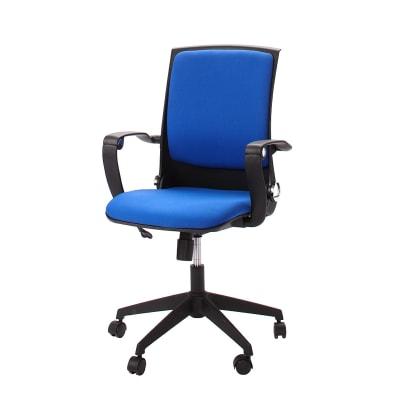 Sedia Da Ufficio Con Braccioli Eagle Blu Prezzo Online Leroy Merlin