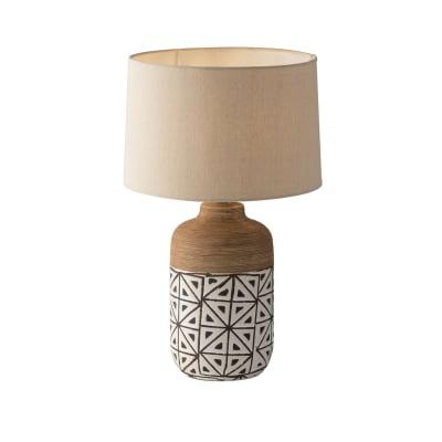 Lampada Da Tavolo Industriale Vietri Marrone In Ceramica Luce Ambiente Design Prezzo Online Leroy Merlin