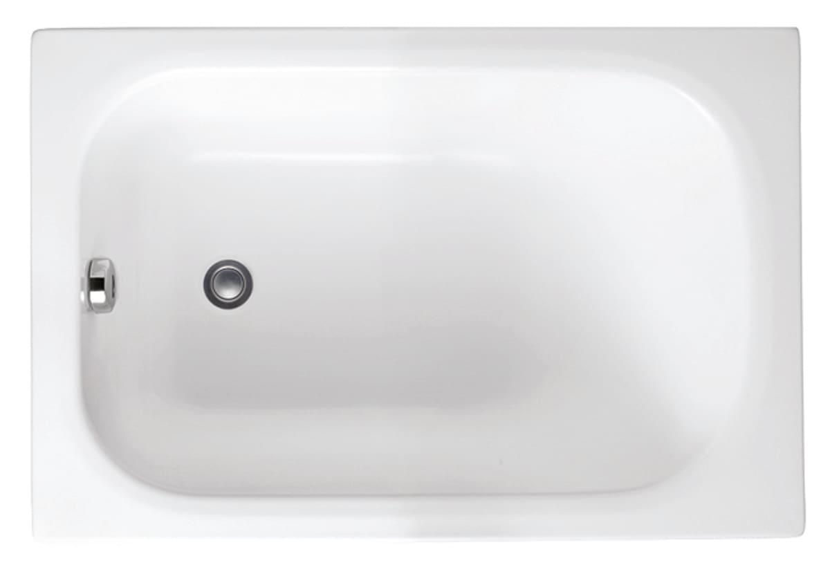 Vasca Da Bagno Lunga 120 Cm.Vasca Mini 105 X 70 Cm Prezzi E Offerte Online Leroy Merlin