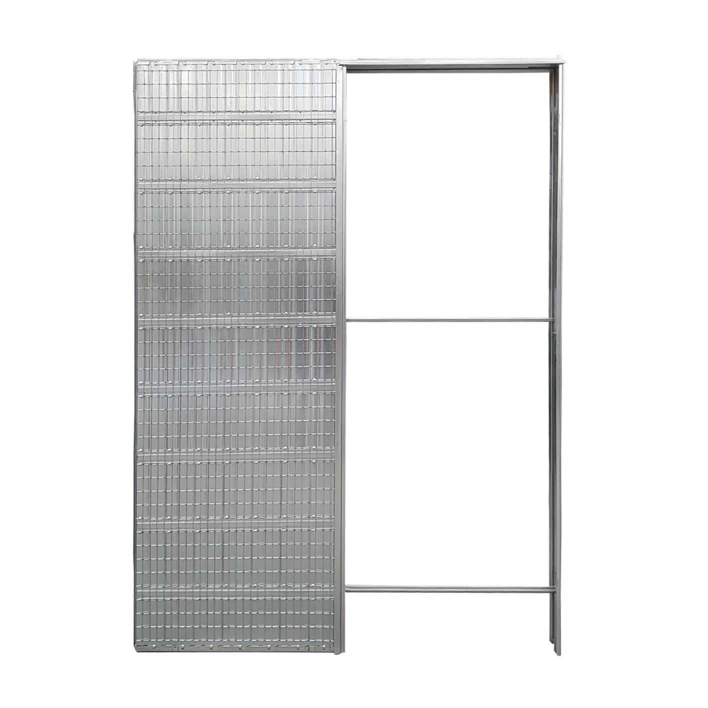 Controtelaio porta scorrevole per intonaco 80 x 210 cm prezzi e ...