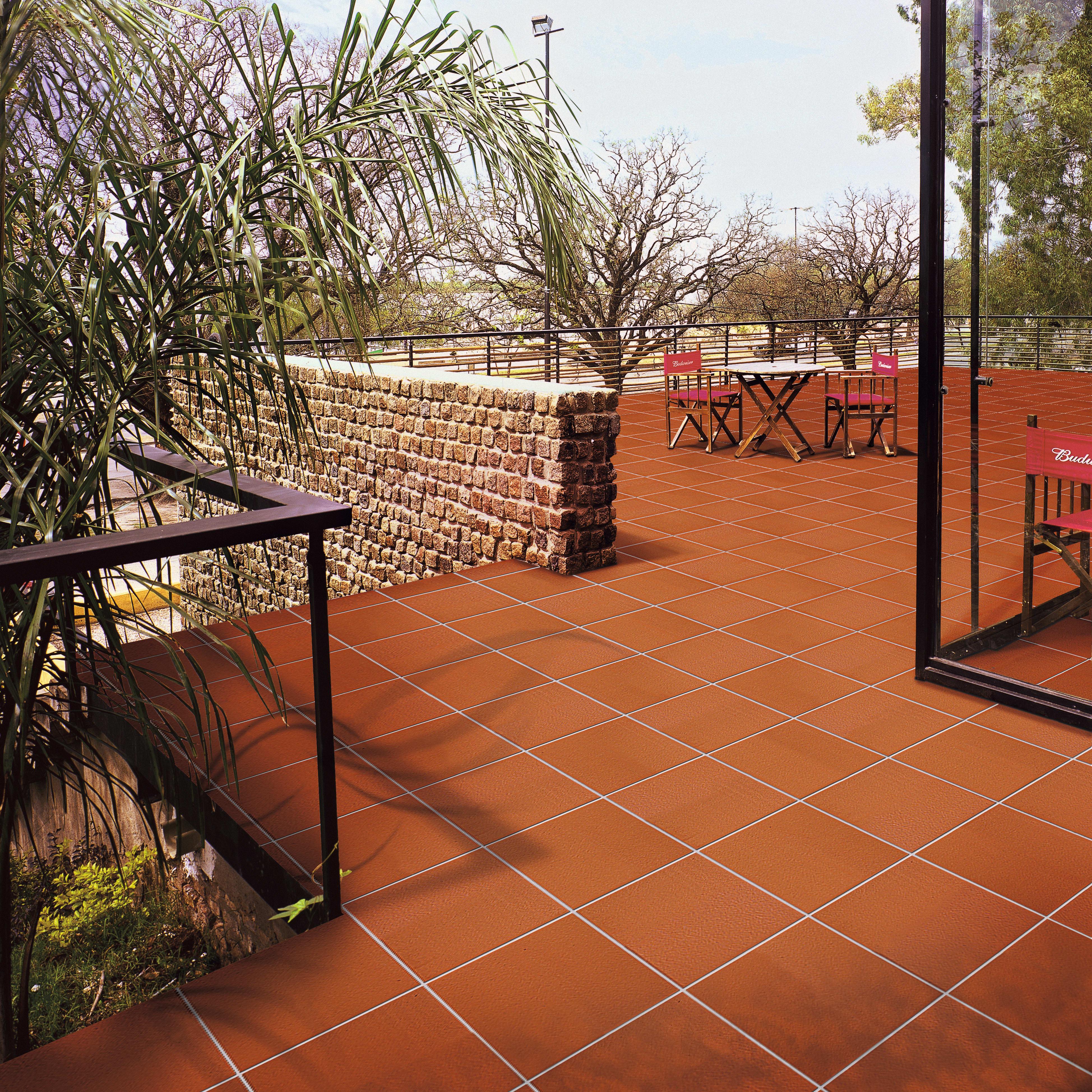 Pavimenti In Cotto Per Interni piastrella klinker cotto presild 30 x 30 cm sp. 12 mm intens rosso