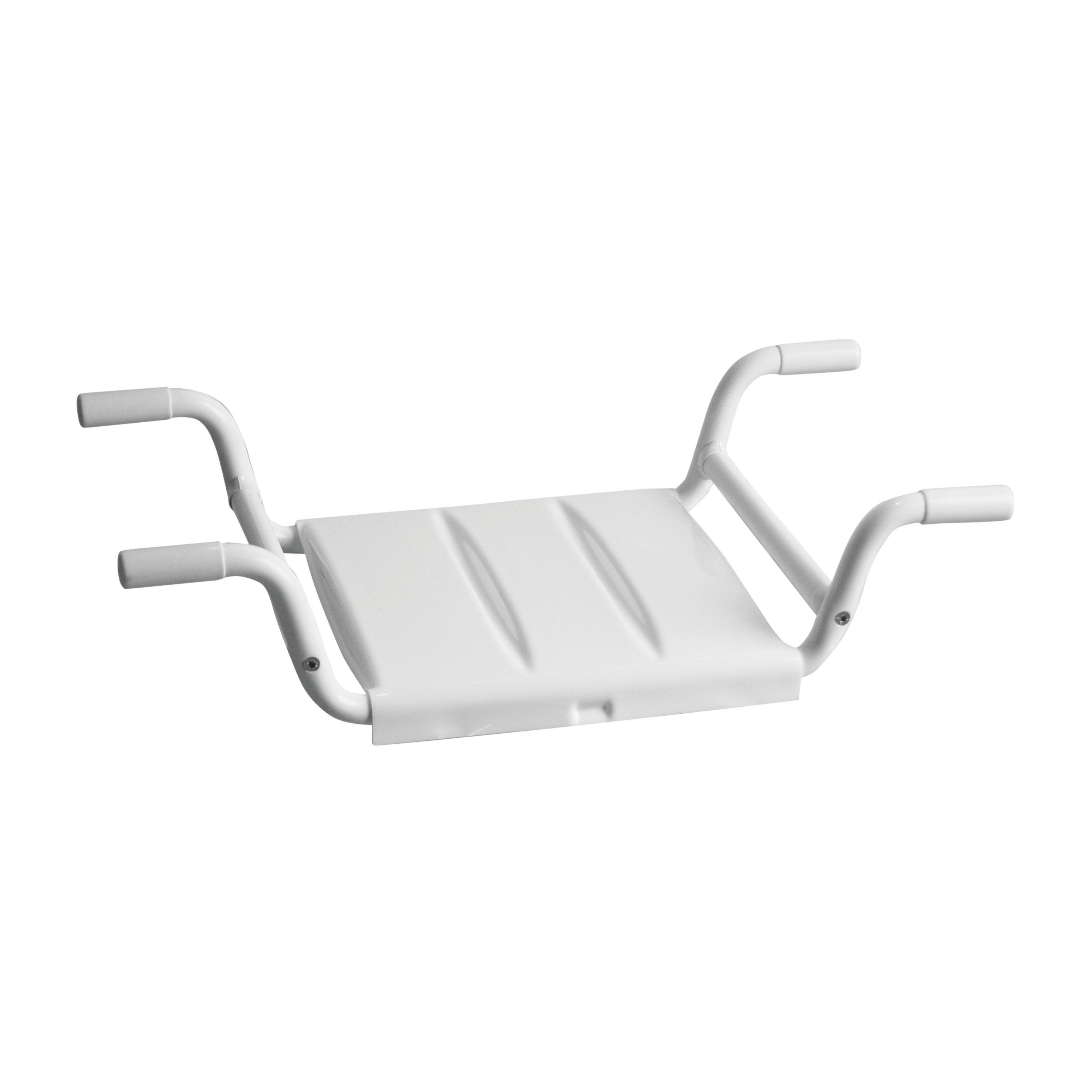 Sedile Per Vasca Bagno.Sedile Per Vasca Medium In Inox Bianco Prezzo Online Leroy Merlin