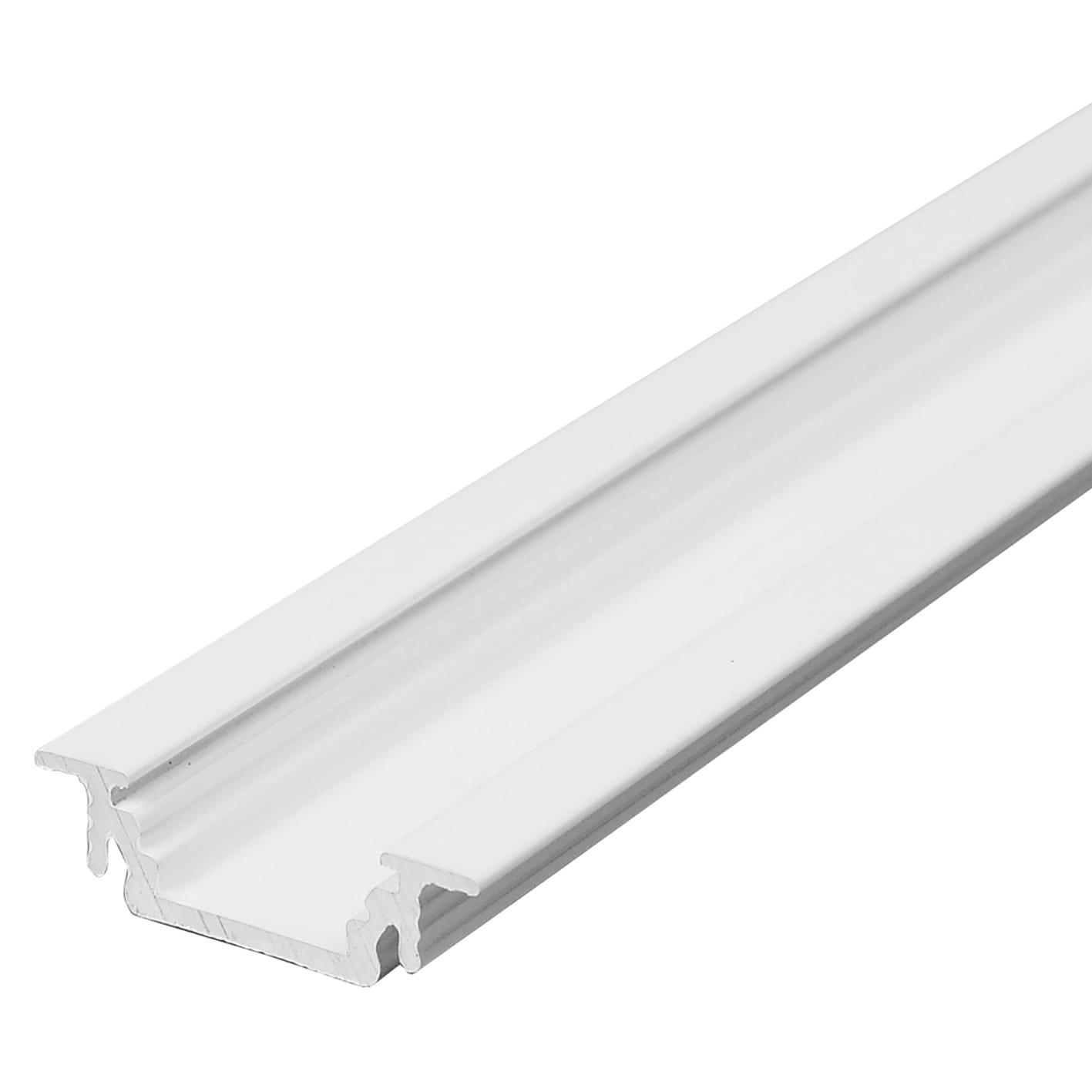Strisce Led Per Cartongesso profilo per strisce led, in metallo, grigio / argento, 2 m