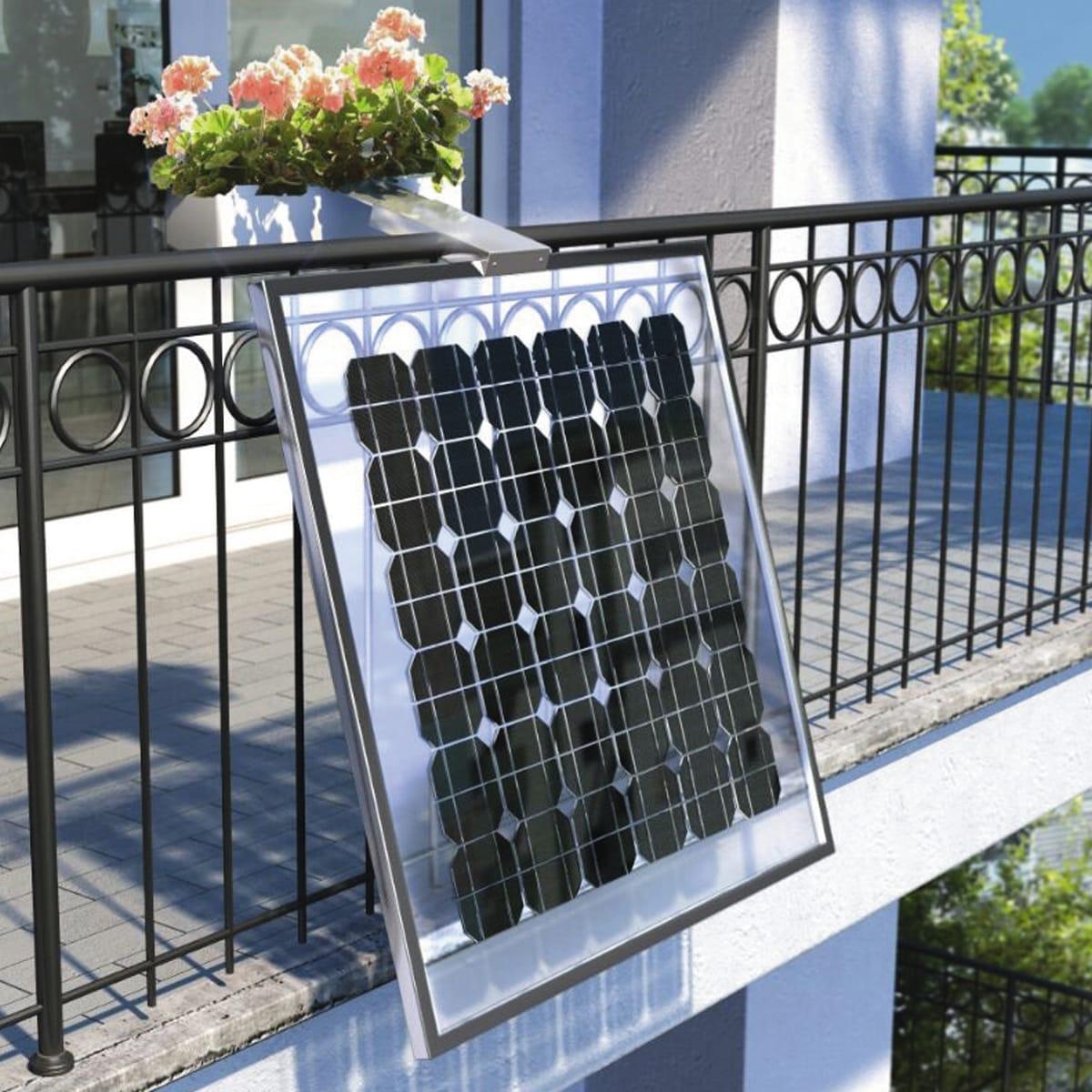 Leroy Merlin Fioriere Da Balcone fotovoltaico fai da te balcone fioriera 160 w