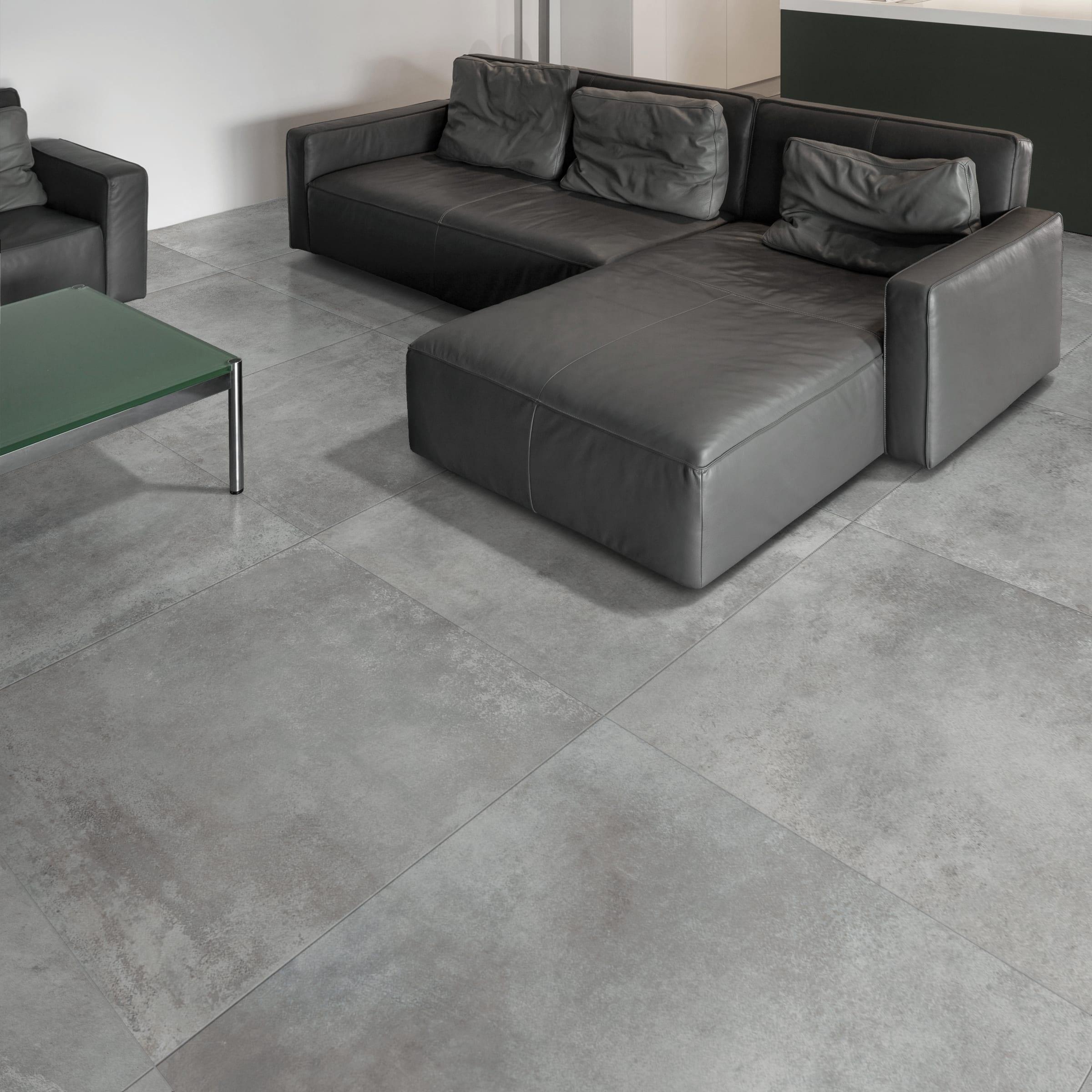 Fuga Minima Pavimento Rettificato piastrella argento 90 x 90 cm sp. 10 mm pei 4/5 argento