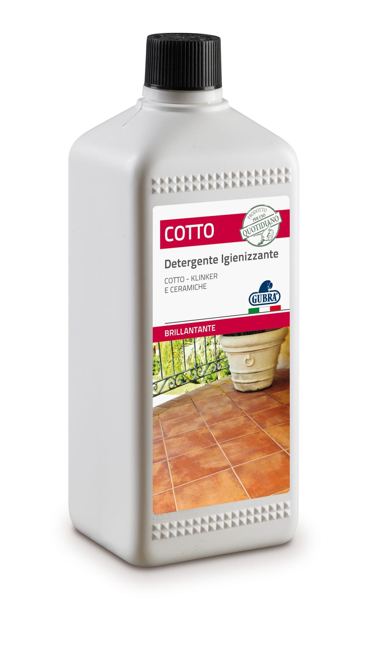 Detergente Per Cotto Esterno detergente pavimenti esterni e facciate in cotto 1 l