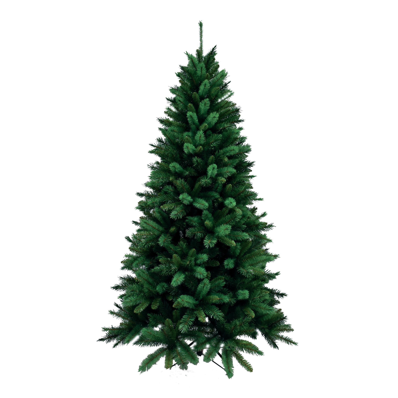 Addobbi Natalizi Happycasa.Albero Di Natale Artificiale Livigno Verde H 210 Cm Prezzo Online Leroy Merlin