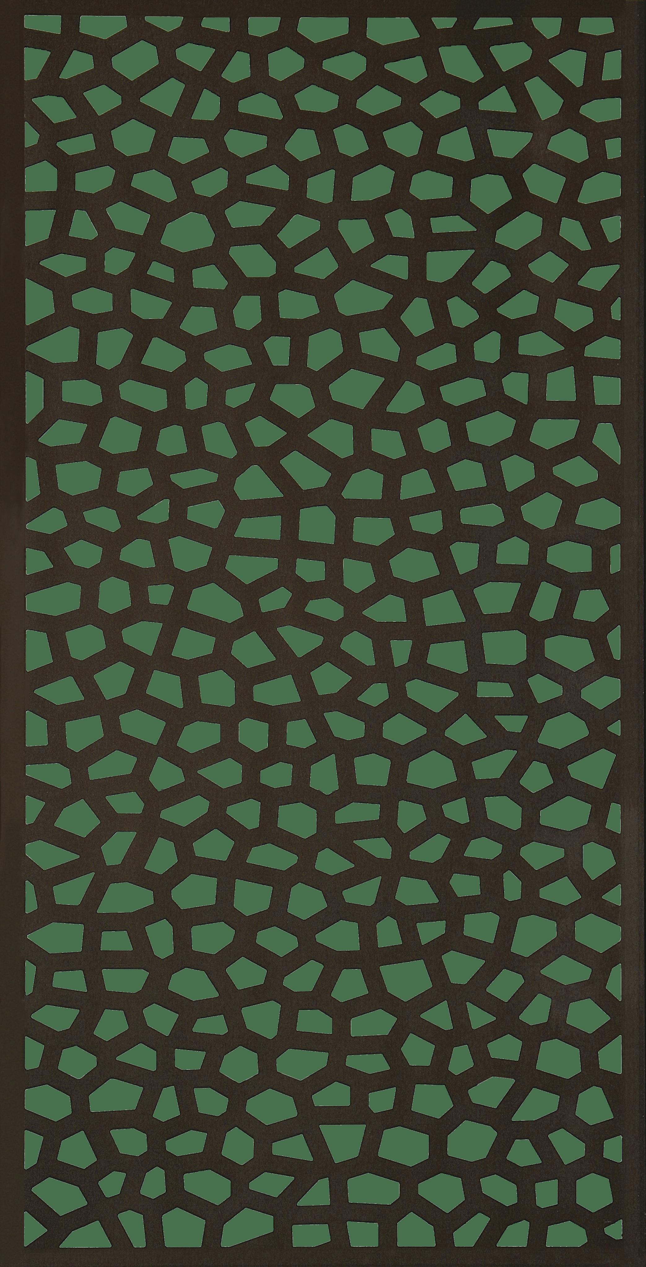 Grigliati In Plastica Per Giardino.Traliccio Fisso In Pvc Mosaic L 100 X H 200 Cm Sp 5 Mm