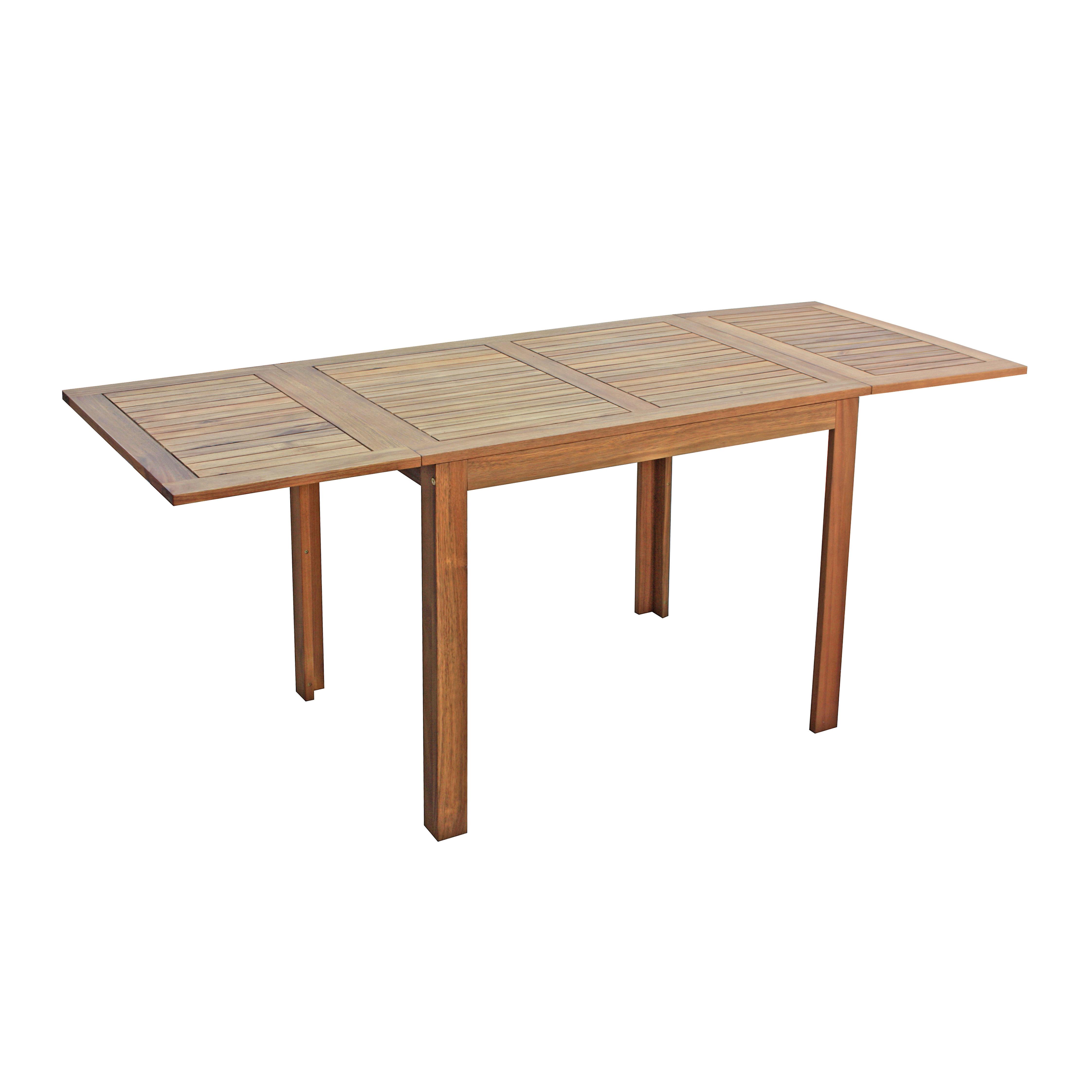Tavolo Fai Da Te Allungabile.Tavolo Da Giardino Allungabile Rettangolare Naterial Con Piano In