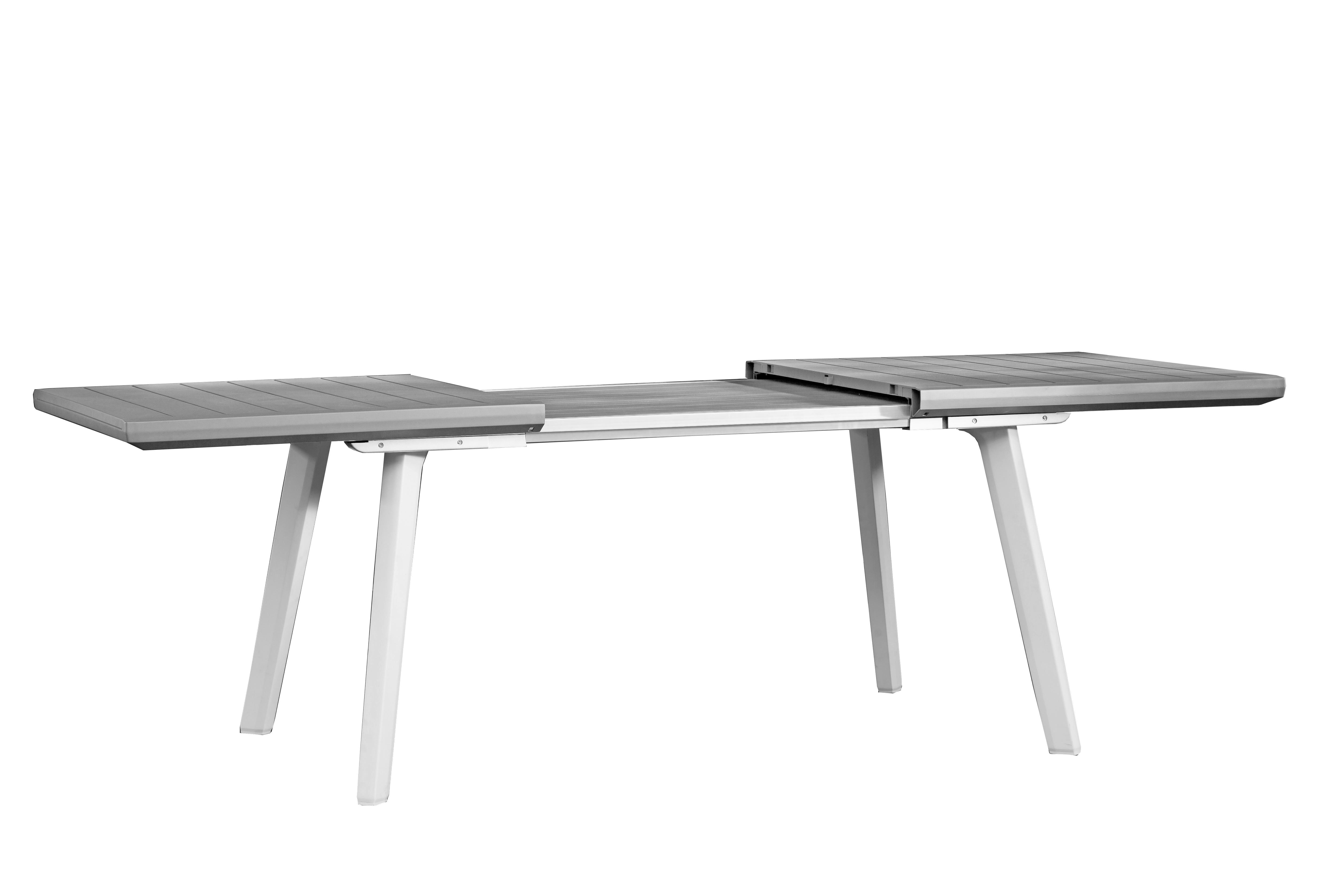 Tavolo Da Giardino Allungabile Rettangolare Harmony Con Piano In Resina L 160 240 X P 100 Cm Prezzo Online Leroy Merlin
