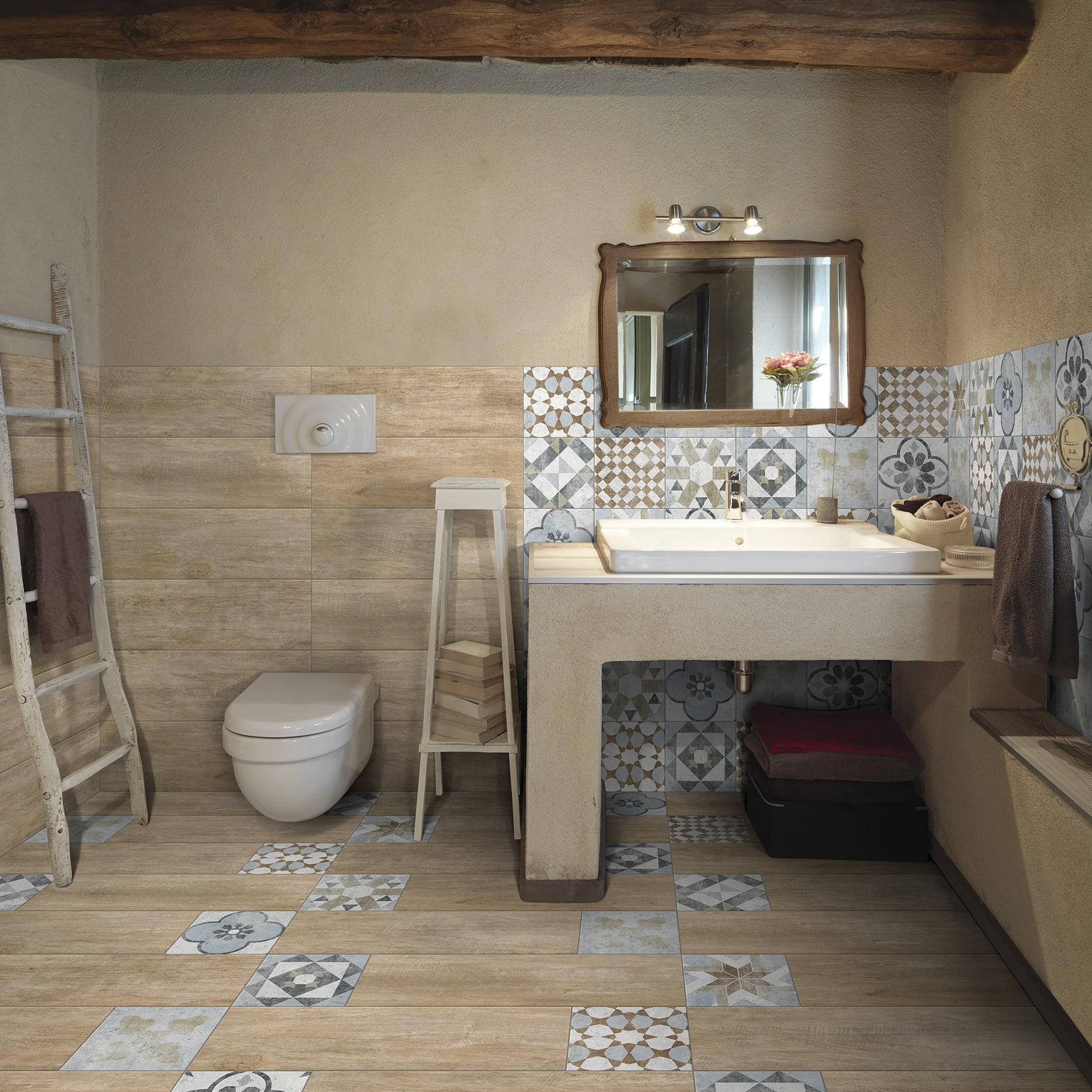 Rivestimenti Leroy Merlin Bagno piastrella villa 20 x 20 cm sp. 8.2 mm pei 4/5 multicolore