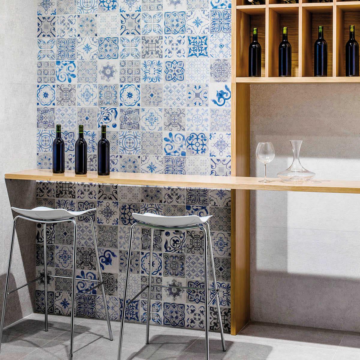 Piastrella Per Rivestimenti Mosaico Antique 30 X 90 Cm Sp 10 5 Mm Grigio Prezzo Online Leroy Merlin
