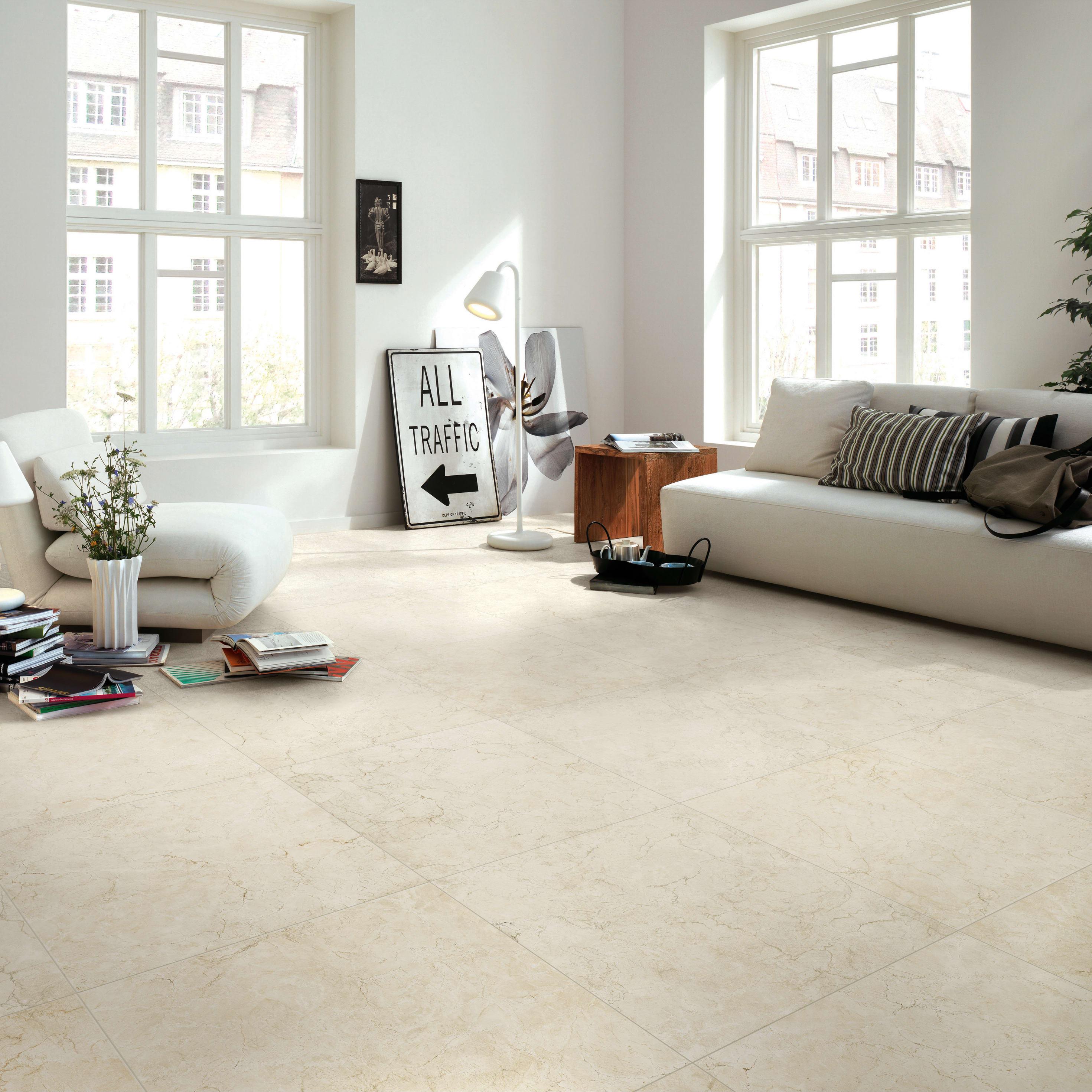 Fuga Minima Pavimento Rettificato piastrella marmorea 60 x 60 cm sp. 9.5 mm pei 3/5 beige