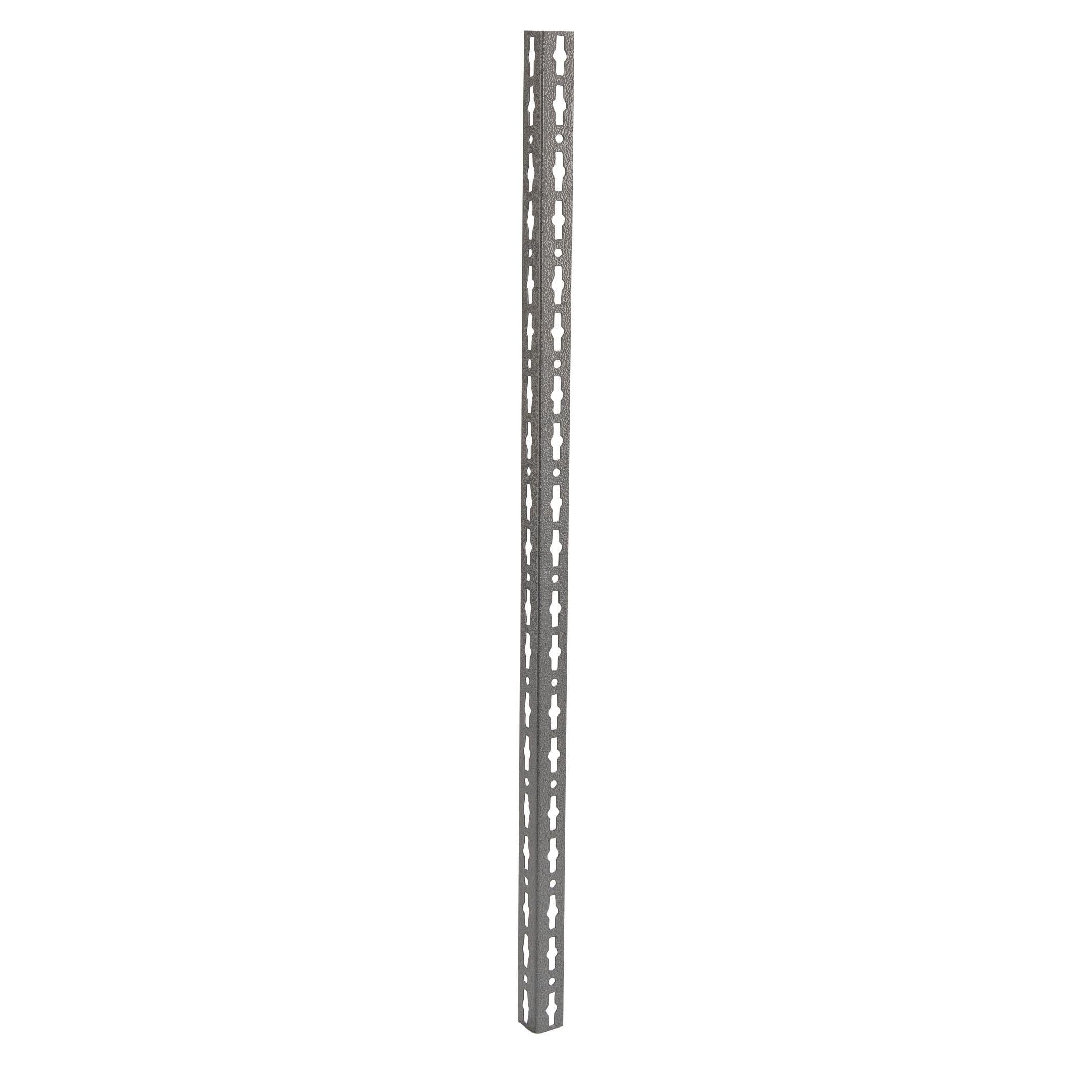 Angolari In Ferro Per Scaffali.Montante In Metallo Angolare L 4 X H 259 8 X Sp 4 Cm Grigio