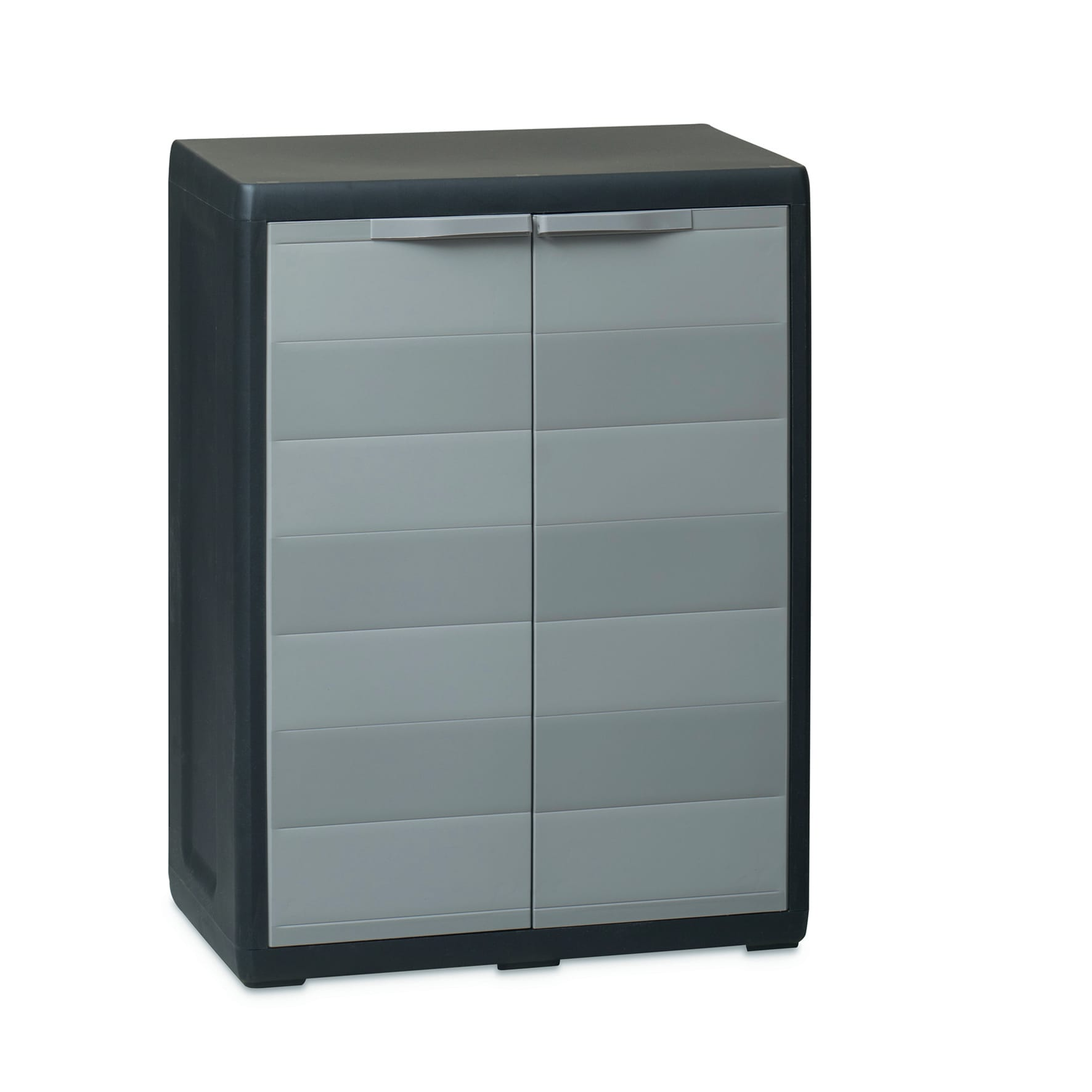 Leroy Merlin Mobili Da Balcone armadio elegance l 65 x p 38 x h 87 cm grigio e nero
